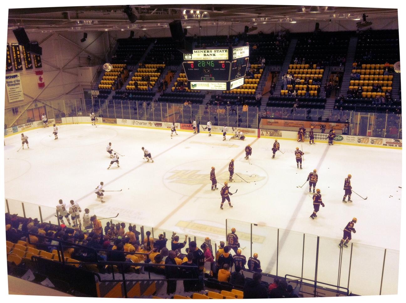 LIVE at John MacInnes Student Ice Arena!