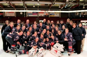 Team USA earned precious metal in Finland last week. (Photo: Pekka Rautiainen)