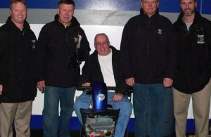 Steve Romanchuk and Coaching Team
