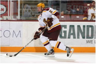 Blake Thompson had two points in five career games as a Gopher.