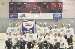 Byfuglien Trucking 2012 USA Hockey 60+ Champions