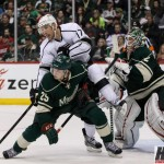 Featured Image: Jonas Brodin scored the second of Minnesota's two goals in its season-opening 3-2 shootout loss the the LA Kings. (MHM photo / © Jeff Wegge)