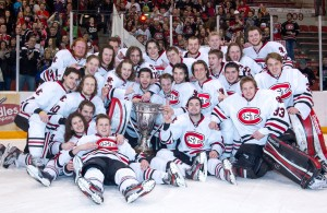 Featured Image CaptionSt. Cloud State hopes scenes like this become an annual event. (St. Cloud State Athletics Photo by Brace Hemmelgarn)