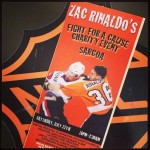Featured Image: Ticket From Zac Rinaldo's Summer Charity Event for McMaster Children's Hospital