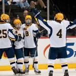 Featured Image: High school hockey is the game in its purest form. (Photo: Tim Kolehmainen)
