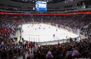 Featured Image: The Bolshoy Ice Dome will serve as the primary hockey venue for the 2014 Winter Olympics in Sochi, Russia.