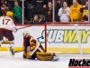 Featured Image: Seth Ambroz nets the winner in the shootout giving the Gophers the North Star College Cup title. (Photo/Jeff Wegge)