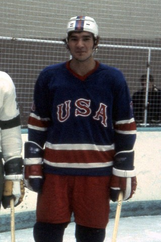Henry Boucha as an Olympian