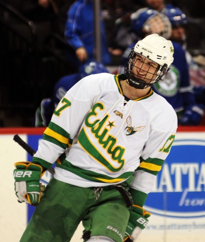 Edina's Garret Wait (MHM photo / Jordan Doffing)