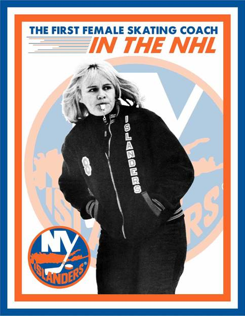 Barbara Williams -1st Female Skating Coach in the NHL