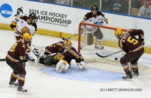 (University of Minnesota-Duluth Athletics Photo / Brett Groehler)