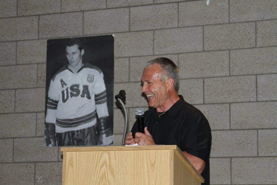 Bill Butters - Herb Brooks Foundation 2015 Hall of Fame inductee (photo by Herb Brooks Foundation staff)