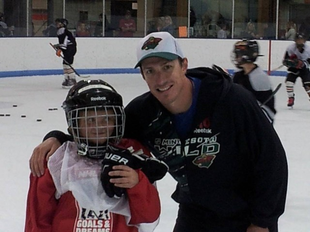 Minnesota Wild and White Bear Lake graduate Ryan Carter
