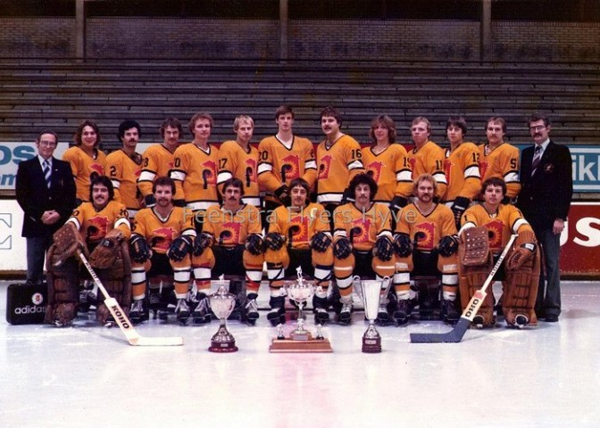 The Feenstra Flyers, Dutch National Champions.  Mike Powers in bottom row, 2nd from right.