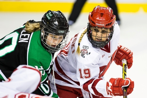 Wisconsin sophomore forward Annie Pankowski (MHM Photo / Brent Cizek)