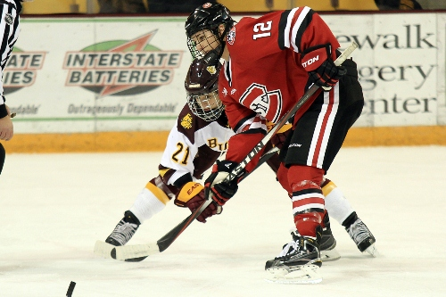 St. Cloud State senior forward Molly Illikainen (MHM Photo / Dave Harwig)