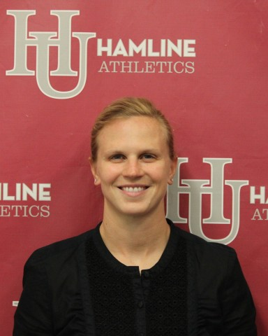 Natalie Darwitz (Photo courtesy of Hamline University Athletics)