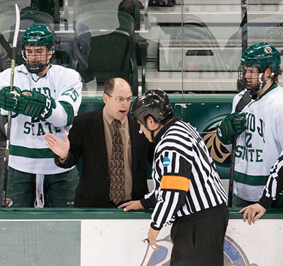 Bemidji State coach Tom Serratore (Bemidji State University Athletics photo)