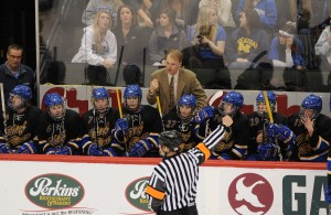 Thief River Falls coach Tim Bergland has his Prowlers back in the top ten with aspirations of a return to St. Paul. (Photo courtesy of Tim Kolehmainen / Breakdown Sports USA)