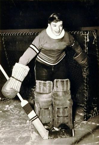 Willard Ikola (Photo courtesy of Ikola Archives - VintageMinnesotaHockey.com)