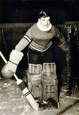 Willard Ikola (Photo courtesy of Ikola Archives - VintageMinnesotaHockey.com)