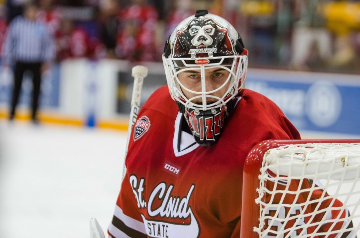 Zach Driscoll (Photo courtesy of St. Cloud State University Athletics)
