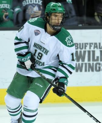 NCHC: Chaska, MN's Shane Gersich Embraces New Role As Top Scoring Threat