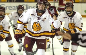 Photo courtesy of Minnesota Duluth Athletics/Dave Harwig