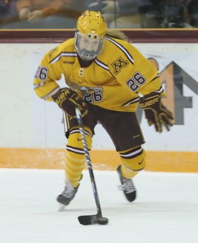 Sarah Potomak (Photo by Jaylynn Nash for Minnesota Hockey Magazine)