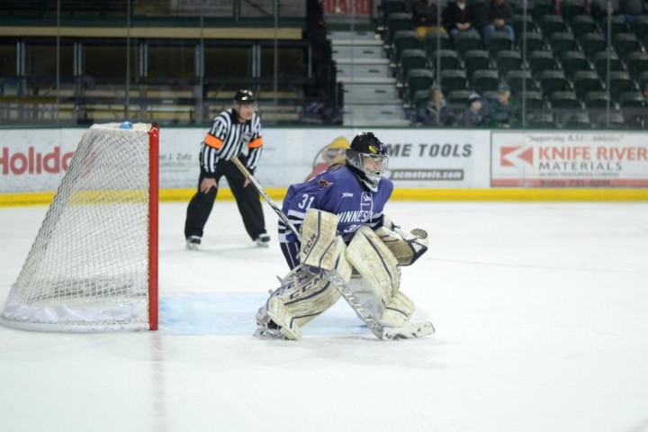 Minnesota State's Chloe Crosby (Photo by Mark Varsay / Minnesota State University Athletics)
