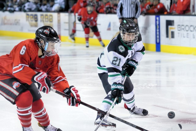 North Dakota's Amy Menke (Photo by Russ Hons)
