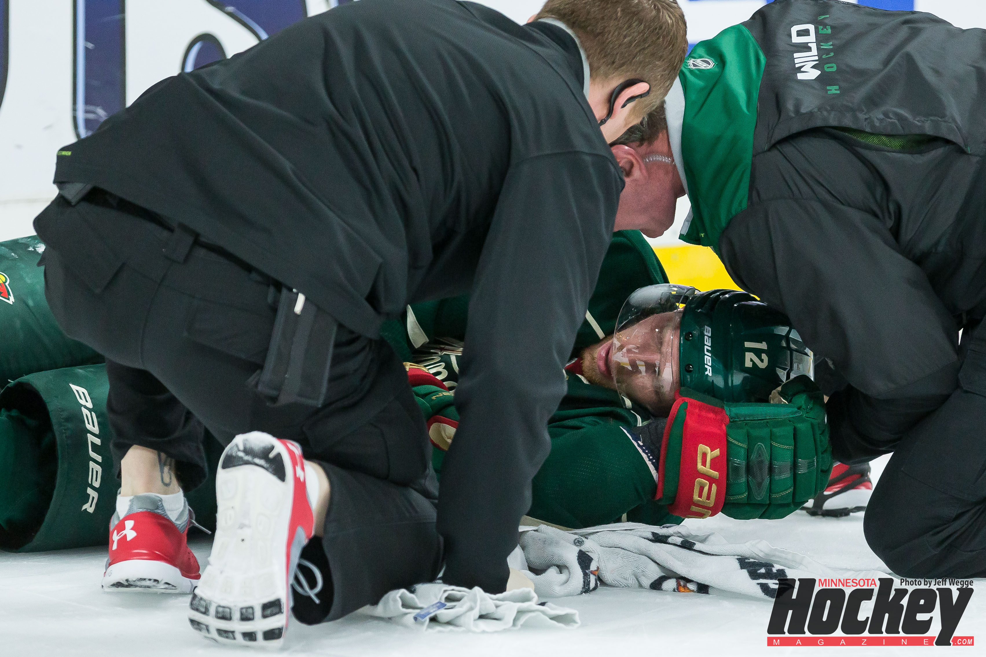 A Crushing Blow - UPDATE: Staal Was Released From The Hospital Saturday Evening