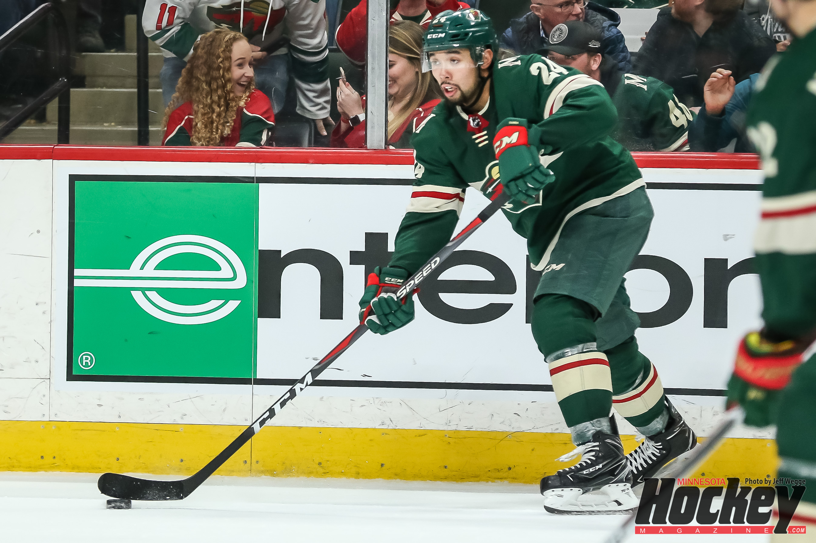 Wild defenseman Ryan Suter out with broken fibula, source says