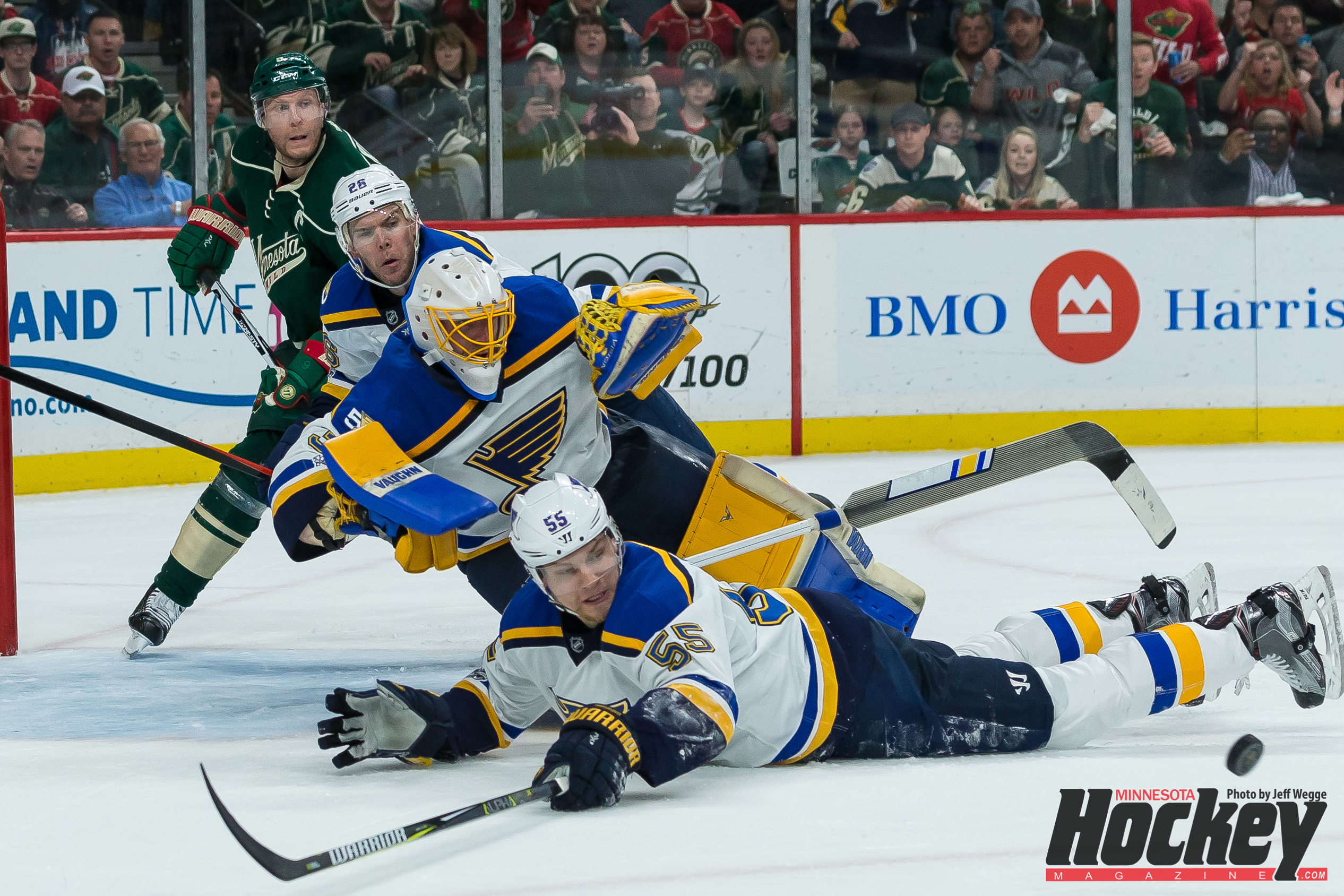 Stanley Cup Playoffs, Blues vs. Wild Live Stream